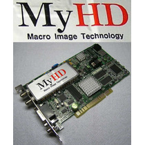 Mit Myhd Placa Pci Captura Video Hdtv Tvcf Vigilancia = R$35