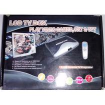 Receptor Lcd Tv Box Play Video Games, Crt & Tft Novo