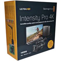 Blackmagic Design Intensity Pro - Captura Profissional