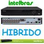 Dvr Nvr Gravador Digital Intelbras 16 Canais Vd 3116 Hibrido