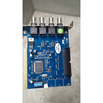 Placa Monit. Geovision Gv250-4 Azul V8.2 Para 4 Cameras