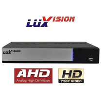 Dvr Nvr Hvr 4 Canais D1 Luxvision - Ahd - Ip Onvif - Nuvem