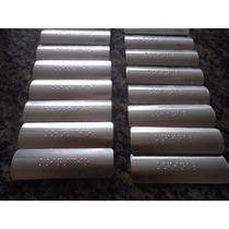 Placa Braille Para Corrimão Com Informativos Inicio E/ou Fim