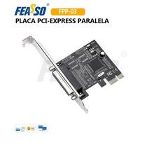 Placa Pci-e X1 Fpp-03 1porta Paralela Db-25 Feasso