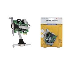 Placa Pci-e Multiserial 2 Serial Rs232 Low Profile Comm5