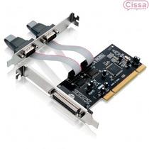 Promoção Placa Ga129 Multilaser Slot Pci 2 Serial 1 Paralela
