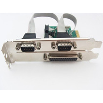 Placa Multiserial Pci Express 1 Paralela 2 Serial Flexport ·