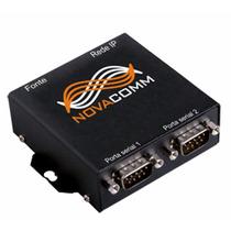 Conversor 2 Serial Rs-232 X Rj-45 2scomm-net