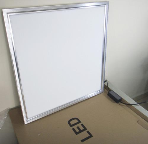 Placas de led 60x60 48w r 215 00 no mercadolivre for Placas de escayola 60x60 precio
