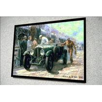 Placa Decorativa 38x27cm * Bentley Boys *.releit .by El Lulu