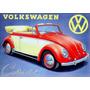 915- Placa Decorativa Carro Auto Fusca Volkswagen Sedan