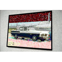 Placa Decorativa 27x19cm * Simca Chambord * .art .by El Lulu