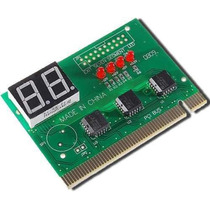 Placa De Diagnóstico Pci - Pc Analyzer 2 Dígitos Com Manual