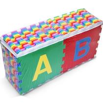Tapete Infantil Eva Colorido Alfabeto Completo 26 Peças