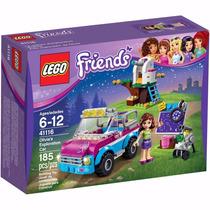 Lego 41116 Friends O Carro De Exploração Da Olivia
