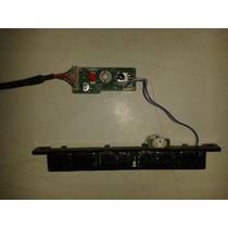 Tecla De Funções E Receptor Ir Tv 32 Pol Sansung Ln32b530p2m