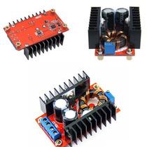 Regulador Elevador Tensão Boost Fonte Dc Ajustável 150w-6a