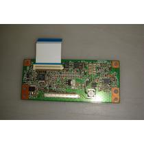 Placa Tcon + Flat Tv Aoc L26w831 Original Funcionando