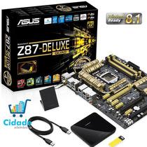 Placa Mãe Asus Z87 Deluxe/quad Lga1150 Thunderbolt 6gb/s
