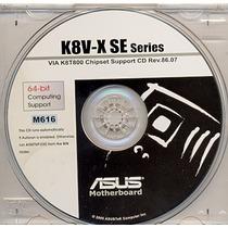Cd Drivers Original Placa Mae Asus K8v-x Se Frete Gratis