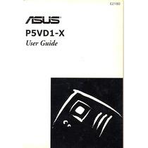 Manual Original Placa Mae Asus P5vd1-x Frete Gratis