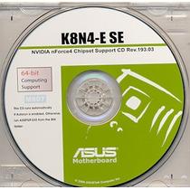 Cd Drivers Original Placa Mae Asus K8n4-e Se Frete Gratis