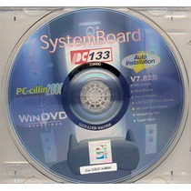 Cd Drivers Original Placa Mae Pcchips Pc133 V7.82b Frete Gra