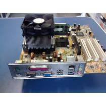 Placa Mae Asus P4s800-mx Se + Celeron D + 1gb Mb + Fonte