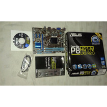 Placa Mae Asus P8h61-m Lx3 R2.0 Lga 1155 Para Intel I7 I5 I3