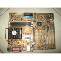 Placa-mae Asus A7v8x-x Processador Amd Sempron 1700+ Cooler+
