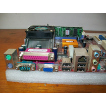 A100-kit Pcchips M810 Dlu Amd 462 Duron 1,3ghz Pro2000 512mb