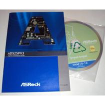 Manual E Cd De Drive Placa Mae Asrock - Ad525pv3