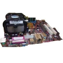 Kit Placa Mãe -chipset Via Ou Intel- 478 C/ Memoria