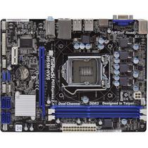 Placa Mãe Asrock P/ Intel H61m-hvs Ddr3 Lga 1155 Desktop