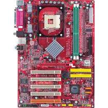 Placa Mãe Ms-7043 Cel. D Pentium 4 Ate 3.4ghz Veja Descrição