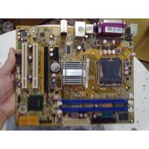 Placa-mãe Lga775 Pegatron Ipm41 Fsb1333 Ddr2 G41 Pcie S/v/r