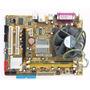 Kit Placa Mãe Asus 775 Intel P5gc-mx Ddr2 1gb Dual-core
