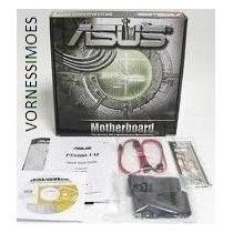 Placa Mãe Asus P5s800- Vm 775 Ddr Nova, Na Caixa+ Acessórios