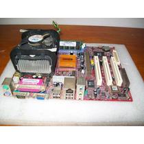 A218-kit Pcchips M925g 478 P4 2,0 256mb.