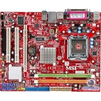 Placa Mãe 775 Ms-7267 945gcm5 Aceita Dual Core2 Duo/quad