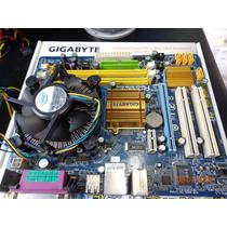 Kit Gigabyte Ga-g31m-es2c+proc D.core E2180 Sock775 Ddr2