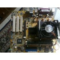 Placa Mãe Asus P4s8x-mx Onboard+celeron D 2.13 Ghz+512 Mem