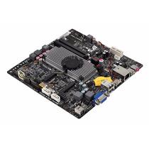 Kit Placa Mãe Mini Itx Processador Integrado Memória Ddr3