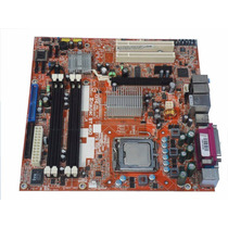 Placa Mãe Itautec St 4150 775 Ddr2 Até 4gb + Pentium 4 3.00