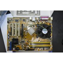 Placa Mãe Asus P5sd2-x - Com Processador - Usado