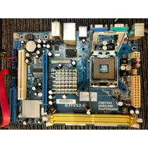 Placa Mãe Phitronics G3ivs2-m 775 Com Processador