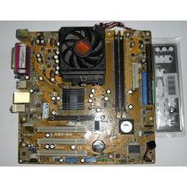 Placa Mãe Asus K8v-mx C/ Proc Amd Sempron 754 E Cooler.