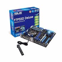 Placa Mãe Asus P7p55d Deluxe + Core I5 650 3,2ghz - Lga 1156
