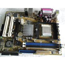 Placa Mae Asus Kbu Vm Ultra Amd Sempron 2.6 Ghz 64 Bts - K8