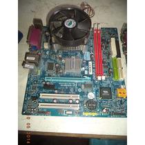 Placa Mae Soquete 775 Com Processador No Estado